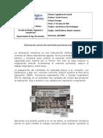 Sistema de control para ventilador mecánico