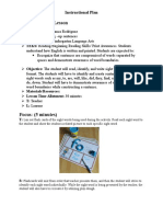 print awareness lesson plan