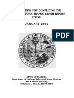 Florida Traffic Crash Report Manual