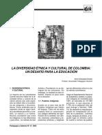 Silvio Aristizabal Diversidad Colombia