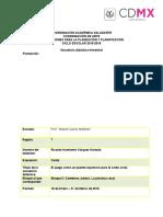 Secuencia Didáctica. BAJA. Ene-Mar 2016. Canto. Manuel Quiroz