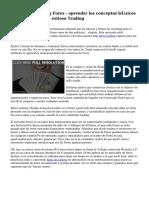 Tutorial de Trading Forex - aprender los conceptos básicos de Forex ganador y exitoso Trading