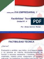 Factibilidad Tecnica