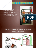 Gas Welding Components
