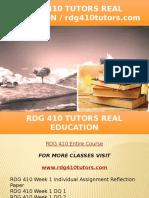 RDG 410 TUTORS Real Education - Rdg410tutors.com