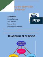 Triangulo de Servicio Avance Epsilon