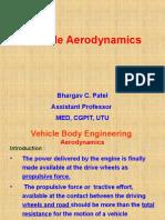 Aerodynamic drag of car Brief.ppt
