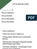 Sinusitis Maksilaris