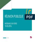Réunion publique 10-03-2016 Morsang sur Orge VDEF