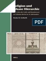 (Aries Book Series 4) Renko D. Geffarth-Religion Und Arkane Hierarchie_ Der Orden Der Gold- Und Rosenkreuzer Als Geheime Kirche Im 18. Jahrhundert-Brill Academic Pub (2007)