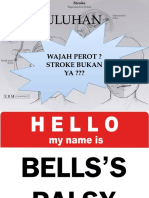 Penyuluhan Bells Palsy