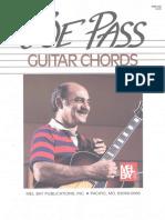 (Guitar Book) Joe Pass - Guitar Chords