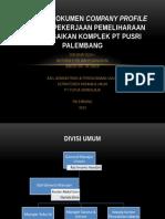 Pemeriksaan Dokumen Company Profile