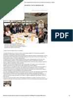 12-03-16 Reitera Claudia Pavlovich compromiso con la apertura de espacios a mujeres. -El Reportero