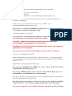 Unlevered Free Cash Flow Calculation in a Discounted Cash Flow Model