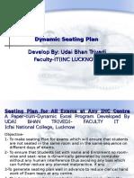 User Manuals -Dynamic Seating Plan