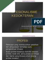 Profesionalisme kedokteran