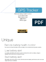 5in1 GPS Tracker T8124BMG