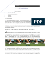 STRETCH Shortning Cycle