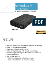 Powerbank GPS Tracker