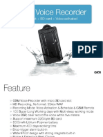 GSM Voice Recorder Series