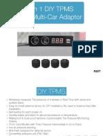 R20T TPMS+Car Adaptor