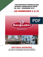 Sampul Pelaporan Restoran Bambuden II & III