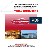 Sampul Pelaporan Restoran Bambuden I