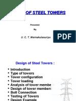 Design of Steel Tower