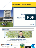 Seminar 1 Slides