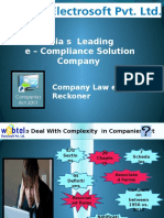 Company Law e Ready Reckoner