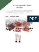 Passos Para Uma Maquiagem Perfeita Mary Kay