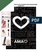 Lista de Pincéis Para Maquiagem Completa
