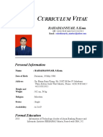 CV English 1