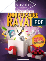 Catalogue Anniversaire Ravate