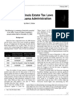 Estate Tax Law Changes Under the Obama Administration