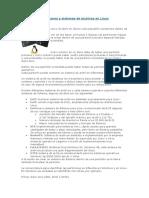 Particiones y Sistemas de Archivos en Linux