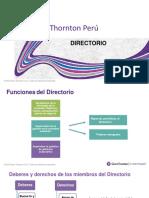 Directorio, Estructura y Funciones