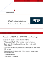 IP Office Contact Center - Demo Script and Presentation