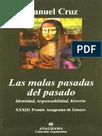 Las Malas Pasadas Del Pasado - Manuel Cruz