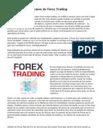 C?mo afecta el volumen de Forex Trading