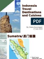 Indonesia Travel Destinations