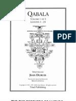Qabala Vol. 1