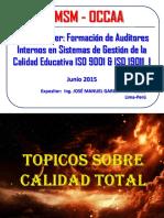 Curso Auditores 1 Topicos de Calidad