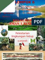 Pelestarianlingkunganhidup Ppt