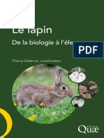 Livre Lapin Gidenne