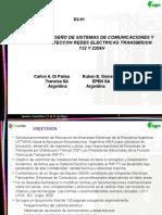 GUIA DE DISEÑO DE SISTEMAS DE COMUNICACIONES Y TELEPROTECCON REDES ELECTRICAS TRANSMISION 132 Y 220kV
