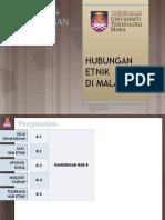 CTU555 Sejarah Malaysia - Islam & Hubungan Etnik