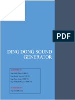 Ding Dong Sound Generator.report