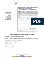 2000 Pompe a Pedales Plans